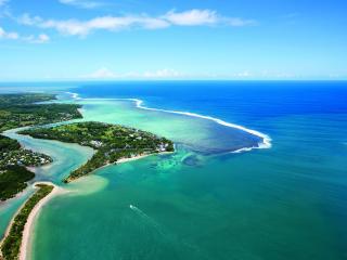 Shangri La Fijian - Aerial Ocean View