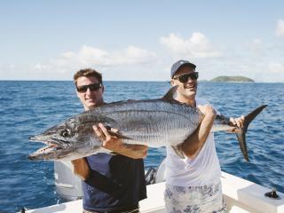 Fiji Fisherman Needs Bigger Boat After Monster Wahoo Catch