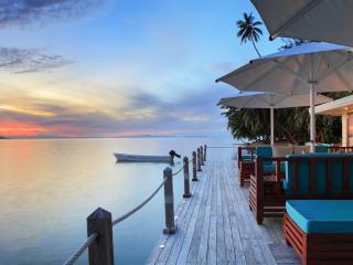 Matangi Island Resort Sunset