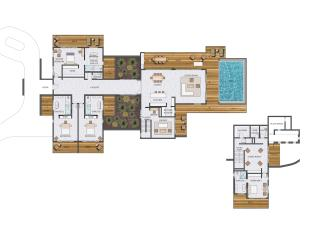 4 Bedroom Hilltop Residence (floor plan)