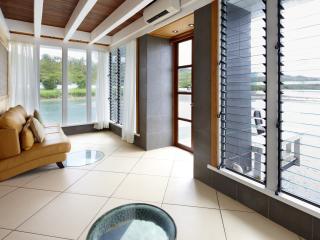 Edgewater living area
