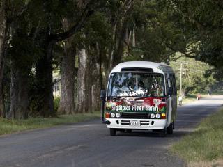Sigatoka River Safari - Transfer Bus